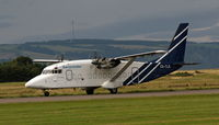 CS-TLS - Just landed at Inverness, Scotland - by E Dodds