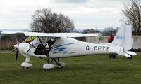 G-CETZ - Ikarus C42 at Darley Moor