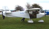 G-CDIU - Skyranger 912S at Darley Moor
