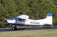 N120KM @ 5W8 - Landing runway 4 - by John W. Thomas