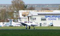 G-CTCH @ EGHH - Local based Diamond Twinstar at Bournemouth