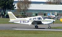 G-BUJP @ EGHH - Piper Pa-28-161 at Bournemouth