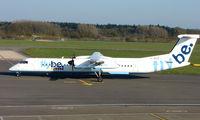 G-JECZ @ EGHI - FLYBE Dash 8 at Southampton