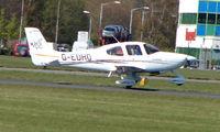 G-EDHO @ EGHH - Visiting Cirrus SR20 lands at Bournemouth