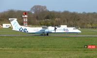 G-JECV @ EGHI - FLYBE Dash 8 at Southampton