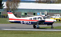 G-BYHJ @ EGHH - Pa-28R-201 at Bournemouth