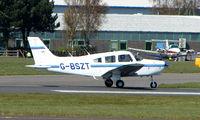 G-BSZT @ EGHH - Piper Pa-28-161 at Bournemouth