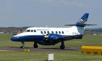 G-ISLB @ EGHH - Blue Islands Bae 3202 ready to leave Bournemouth
