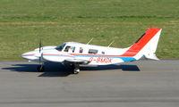 G-BMDK @ EGHI - Med Air's Pa34 arriving at Southampton