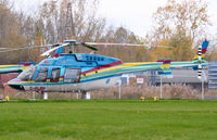 C-FLRH @ CPQ3 - Bell 407 of Niagara Helicopters at Niagara Heliport - by Steve Hambleton