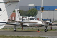 D-ICHS @ EBBR - parked on General Aviation apron (Abelag) - by Daniel Vanderauwera