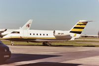 3B-GFI @ EBBR - parked on General Aviation apron (Abelag) - by Daniel Vanderauwera