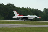 86-0039 @ KLAL - F-16D - by Mark Pasqualino