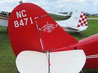 N8471 @ LAL - Tail detail.  Sun N Fun 2008 - by Bob Simmermon