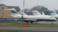 N70EW @ EGGW - Global Express at Luton in April 2008 - by Terry Fletcher