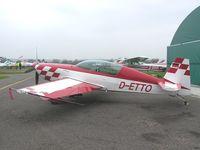 D-ETTO @ EGLG - Extra 300 at Panshanger aerodrome - by Simon Palmer