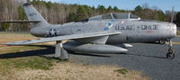 11426 - F86 Sabre outside the North Carolina Aviation Museum in Asheboro North Carolina - by Richard T Davis
