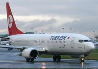 TC-JGE @ EGCC - TURKISH 737 - by Kevin Murphy