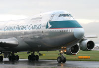 B-HIH @ EGCC - CATHAY FREIGHTER - by Kevin Murphy