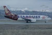 N950WP @ KCOS - Western Pacific Boeing 737-300