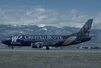 N953WP @ KCOS - Western Pacific Boeing 737-300