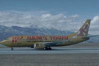 N955WP @ KCOS - Western Pacific Boeing 737-300