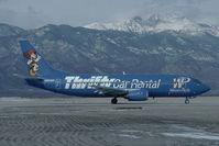N961WP @ KCOS - Western Pacific Boeing 737-300