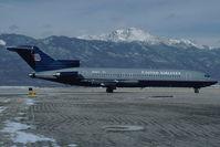N7287U @ KCOS - United Airlines Boeing 727-200