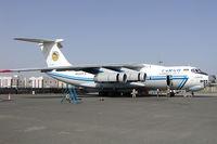 4K-AZ14 @ OMSJ - Azerbaijan Airlines Iljuschin 76 - by Yakfreak - VAP