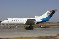 EY-87922 @ SHJ - Tajikistan Airlines Yakovlev 40