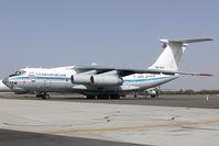 EP-CFC @ SHJ - Chabahar Air Iljushin 76