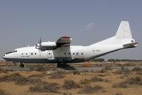 UN-11001 @ SHJ - Avia Pusk Antonov 12