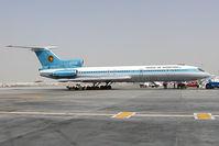 EW-85538 @ OMDB - Shaheen Air Tupolev 154