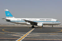 9K-AKC @ OMDB - Kuwait Airways Airbus 320