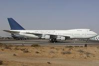 3D-PAJ @ SHJ - Gulf Falcon Boeing 747 - by Yakfreak - VAP