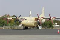 UN-11005 @ SHJ - Varty Pacific Antonov 12