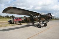 N1138V @ TIX - Max Holste Broussard 1521 - by Florida Metal