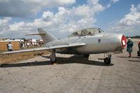 N2400X @ TIX - Mig 15 built in Poland