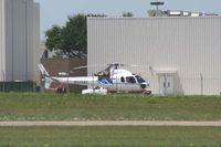 N550AE @ GPM - At American Eurocopter - Grand Prairie, TX - by Zane Adams