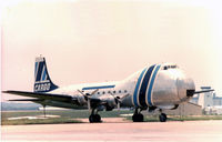 N83FA @ FTW - ATL.98 Carvair at Meacham Field. THis aircraft was detroyed in a fatal crash April 1997, at Griffin, GA.