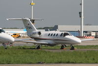 D-IWHL @ EBBR - parked on General Aviation apron (Abelag) - by Daniel Vanderauwera