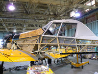 C-GMVG @ CYQS - Undergoing conversion to a two seater variant - by Steve Hambleton