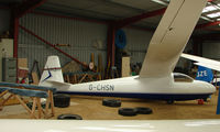 G-CHSN - A recent addition to the British Register at Needwood Forest Gliding Centre