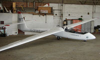 G-CFWT - Part of the Husband Bosworth Gliding Centre scene - by Terry Fletcher
