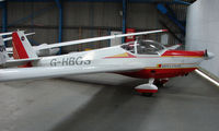 G-HBOS - Part of the Husband Bosworth Gliding Centre scene