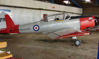 G-BVTX - Chipmunk wearing markings WP809 is part of the Husband Bosworth Gliding Centre scene