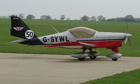 G-SYWL @ EGBK - Polish Training Aircraft is part of the Sywell GA scene on Tiger Moth Fly-in Day in May 2008
