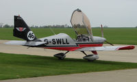 G-SWLL @ EGBK - Polish Training Aircraft is part of the Sywell GA scene on Tiger Moth Fly-in Day in May 2008