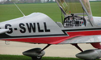 G-SWLL @ EGBK - A closer view inside this Polish Trainer
