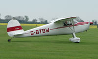 G-BTBW @ EGBK - Classic Cessna 120 is now based at Sywell